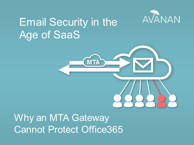 Why an MTA Gateway Can't Protect Office 365: Email Security in the Age of SaaS
