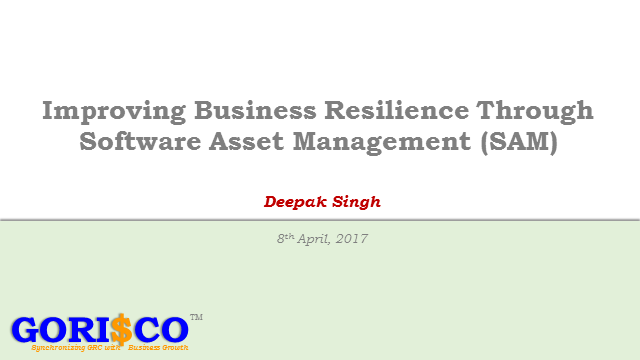 Improving business resilience through Software Asset Management