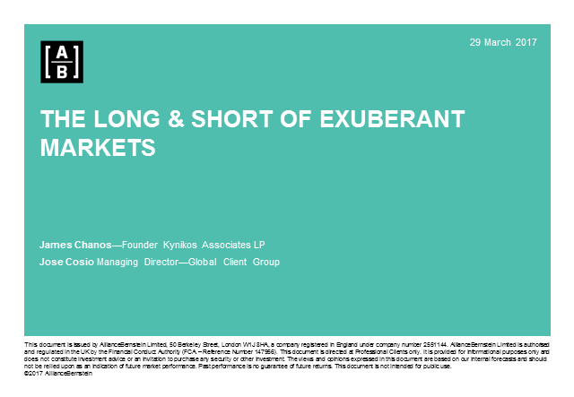 The Long and Short of Exuberant Markets