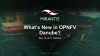 What's New in OPNFV Danube?