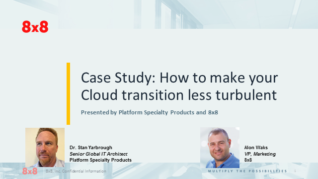 Case Study: How to make your Cloud transition less turbulent