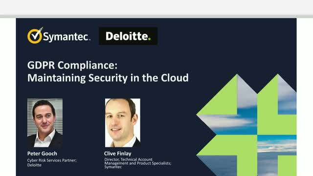 GDPR Compliance: Maintaining Security in the Cloud