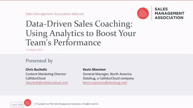 Data-Driven Sales Coaching: Using Analytics to Boost Your Team's Performance