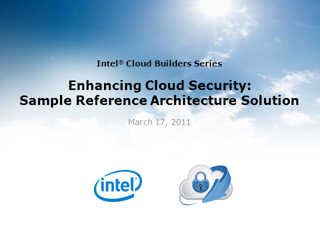 Secure Cloud Access Reference Architecture Model