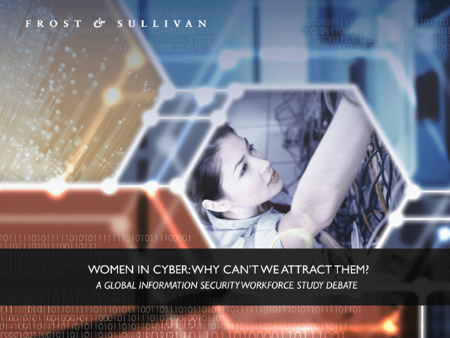 Women in Cyber: Why Can't We Attract Them?