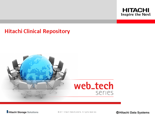 Hitachi Clinical Repository: Clinical Transformation