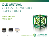 Old Mutual Global Strategic Bond Fund Quarterly Update - Q1 2017