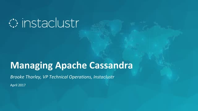 Open Source Cassandra: Lessons Learned from Supporting 2,000 Clusters