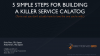 Panel: 5 Steps to Building a Killer Service Catalog