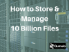 How to Store and Manage 10 Billion Files