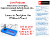 Podcast: What does Converged, Hyperconverged, Hybrid Cloud, etc.. Really Mean?