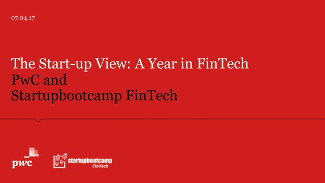A Year in FinTech: A Report on AI, Big Data, Blockchain and more