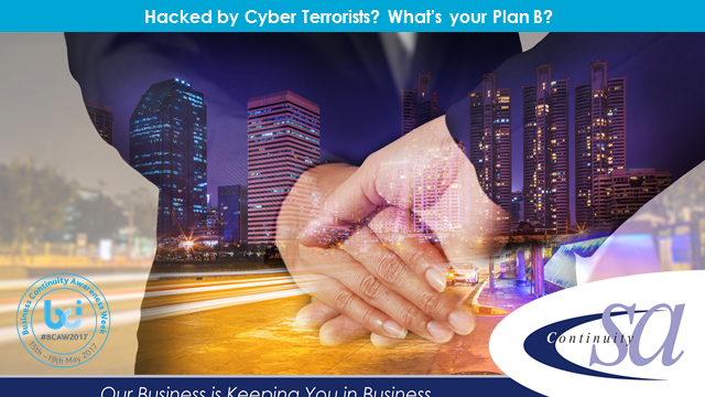 Been hacked by cyber terrorists? What's your Plan B?