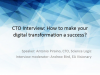 CTO Interview: How to make your digital transformation a success?