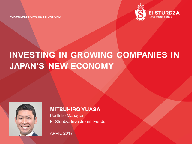 Investing in Growing Companies in Japan's New Economy