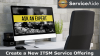 Create a New ITSM Service Offering In Minutes!