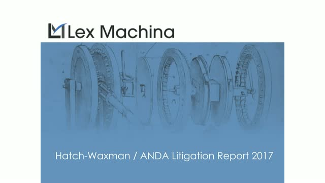 ANDA Litigation Report 2017