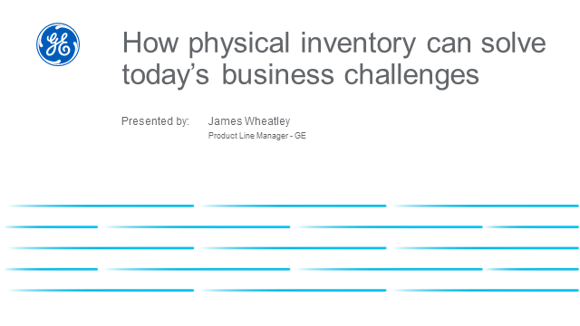 How physical inventory can solve today's business challenges