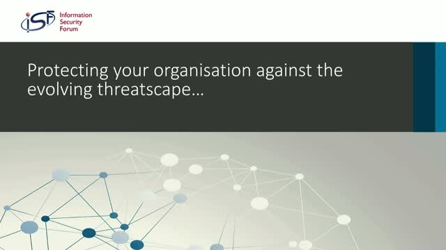 Protecting your Organisation Against the Evolving Threatscape