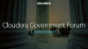 Cloudera Government Forum Livestream 2017