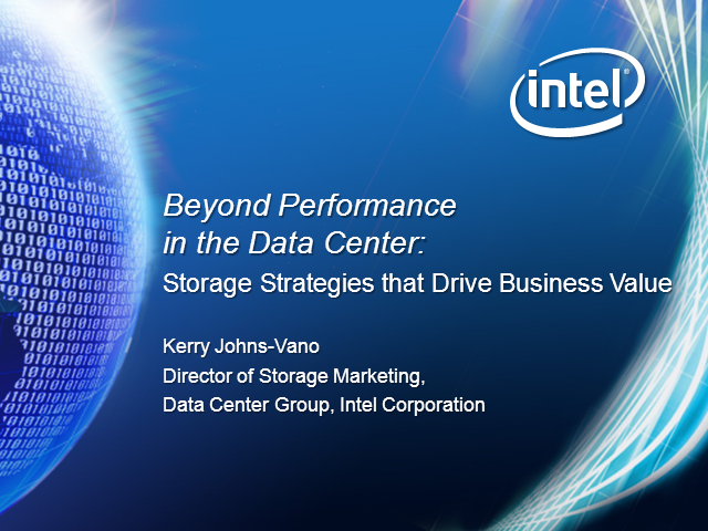 Beyond Performance: Storage Strategies that Drive Business Value