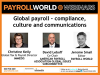 Global payroll - compliance, culture and communications