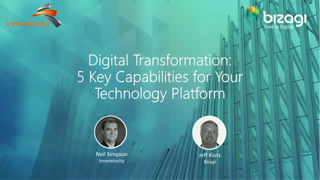 Digital Transformation: 5 Key Capabilities for Your Technology Platform