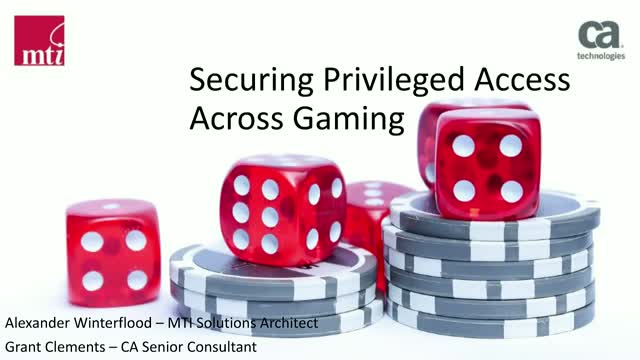 Securing the Gaming Industry