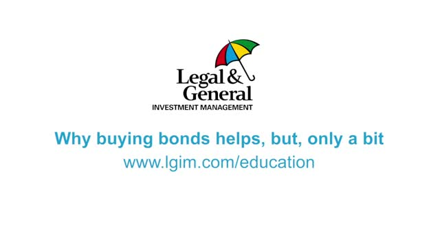 LDI Education 2: Why buying bonds helps, but only a bit