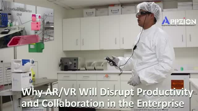 Why AR/VR Will Disrupt Productivity and Collaboration in the Enterprise