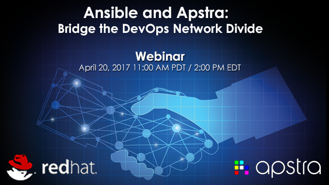 Apstra and Ansible: Bridge the DevOps Network Divide