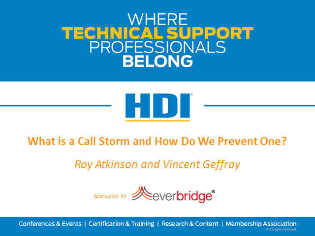 What is a Call Storm and How Do We Prevent one?