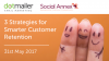 UK/GMT:: 3 Strategies for Smarter Customer Retention