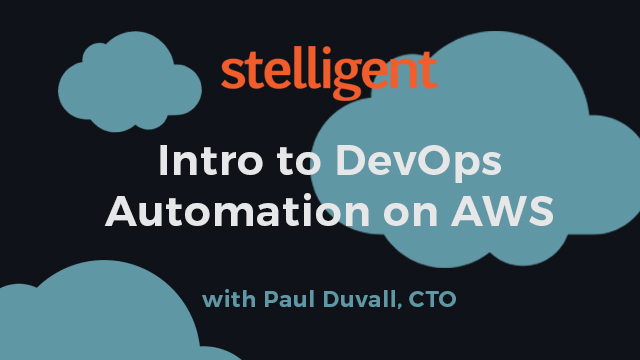 Intro to DevOps Automation on AWS