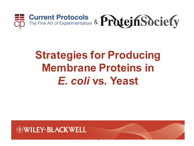 Strategies for Producing Membrane Proteins in E. coli vs. Yeast