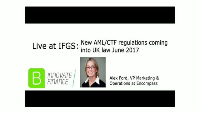 Live from IFGS: New AML/CTF regulations coming into UK law June 2017
