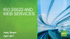 Embracing the future - ISO20022 and Web services