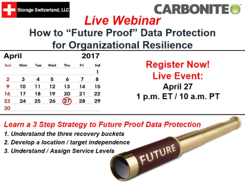 "How to ""Future Proof"" Data Protection for Organizational Resilience"