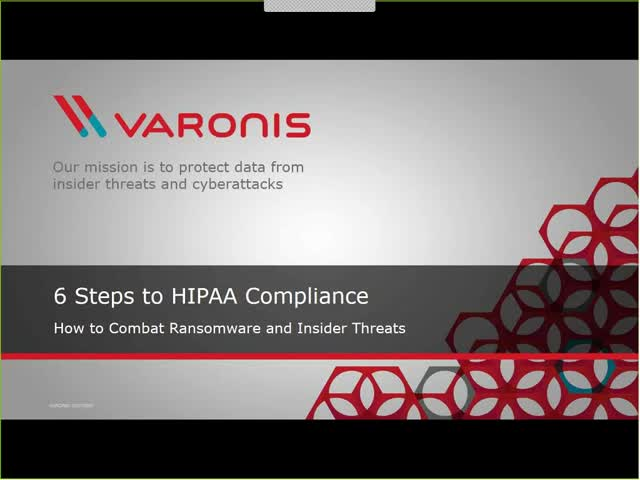 6 Steps to HIPAA Compliance & Ransomware Protection