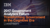 2017 IBM Government Analytics Forum Livestream