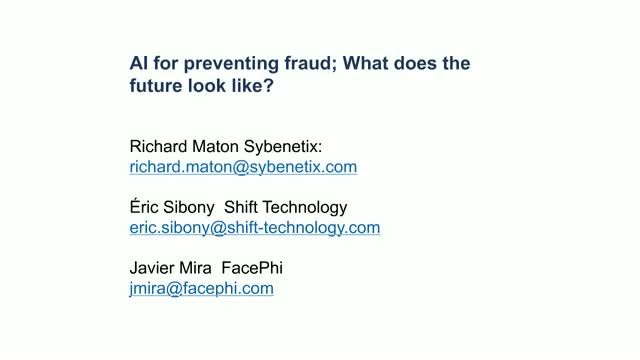 AI for preventing fraud: What does the future look like?