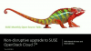Non-disruptive upgrade to SUSE OpenStack Cloud 7