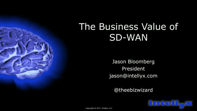 The Business Value of SD-WAN