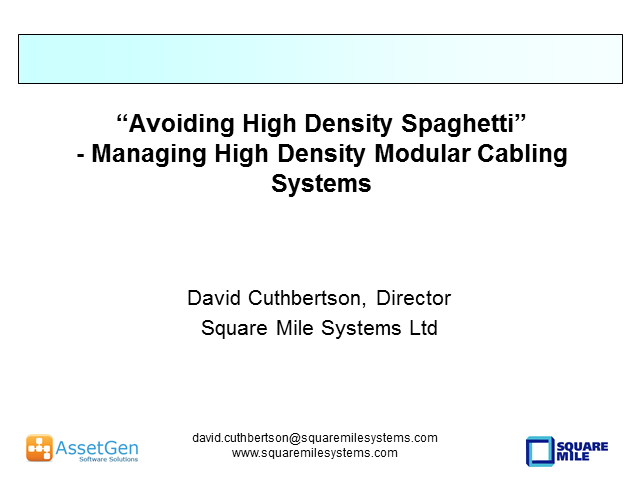 Managing Connectivity With High Density Modular Cabling Systems