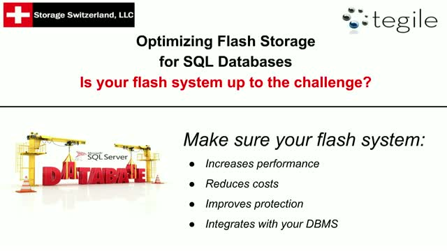 Optimizing Flash Storage for SQL Databases