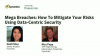 Mega Breaches: How To Mitigate Your Risks Using Data-Centric Security