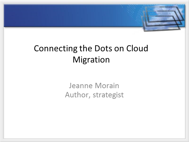 Creating Cloud Migration Command & Control