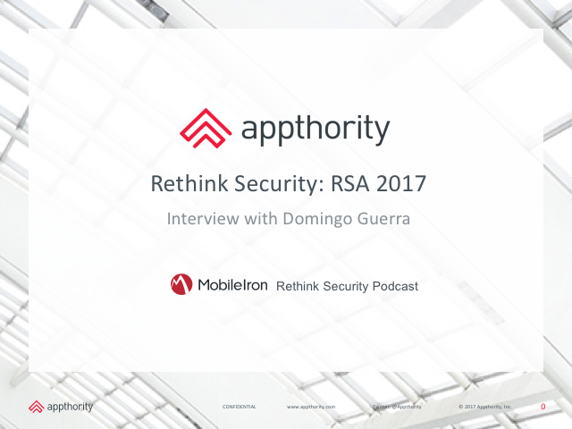 Rethink Security: RSA 2017