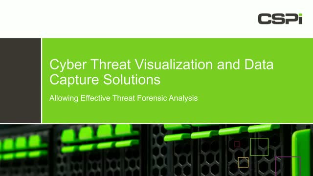 Cyber Threat Visualization and Implementing Better Network Monitoring