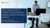Why a Secure VDI & Unified Communications Solution is Key to Business Delivery